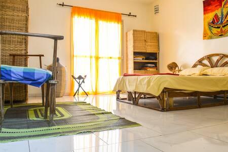 Guestrooms in central Dakar