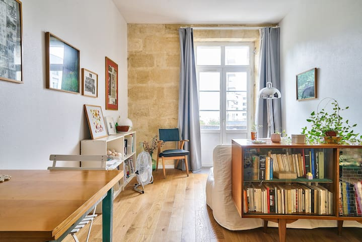 Beautiful apartment for 3 people near Gare St Jean