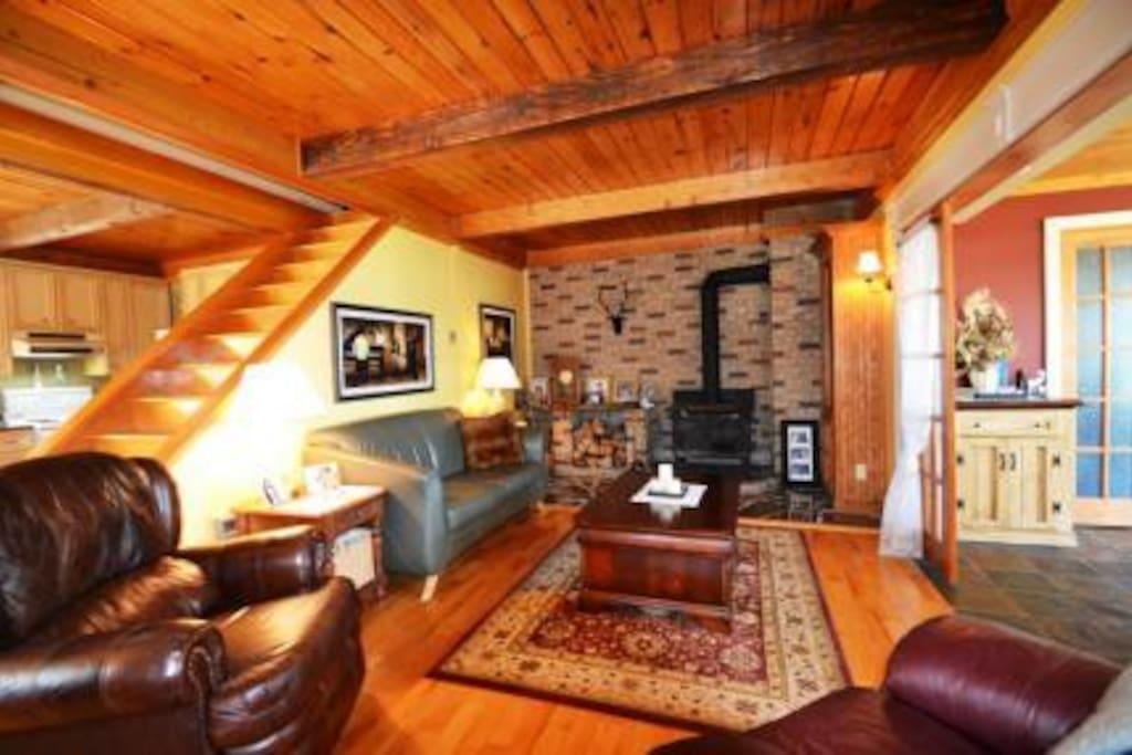Foyer au bois
