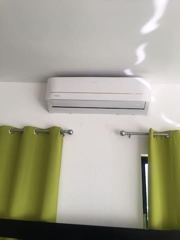24 btu AC in Master bedroom
