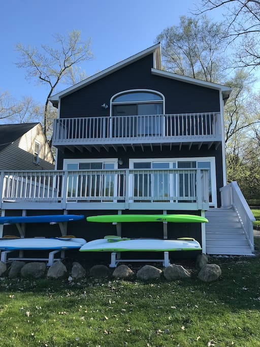 Refinished deck 2018!