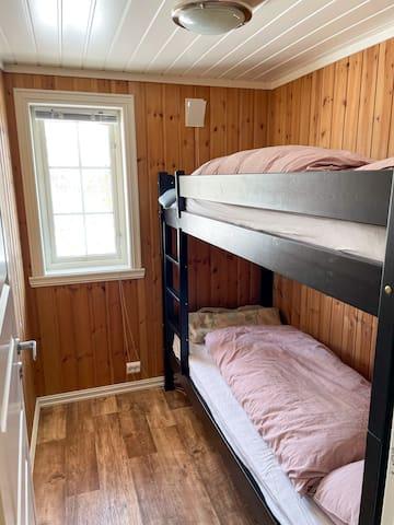Soverrom 2 med køyeseng.
