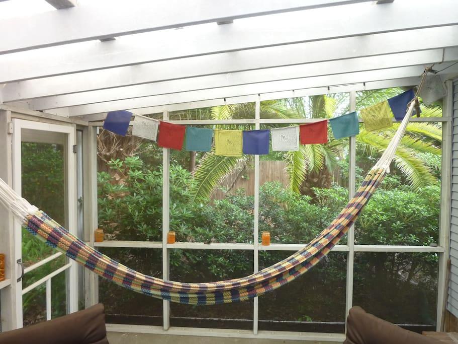 back porch hammock