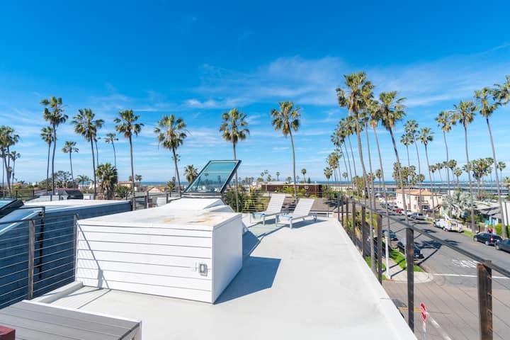 Modern Home, Rooftop Deck, Ocean Views (T1up)