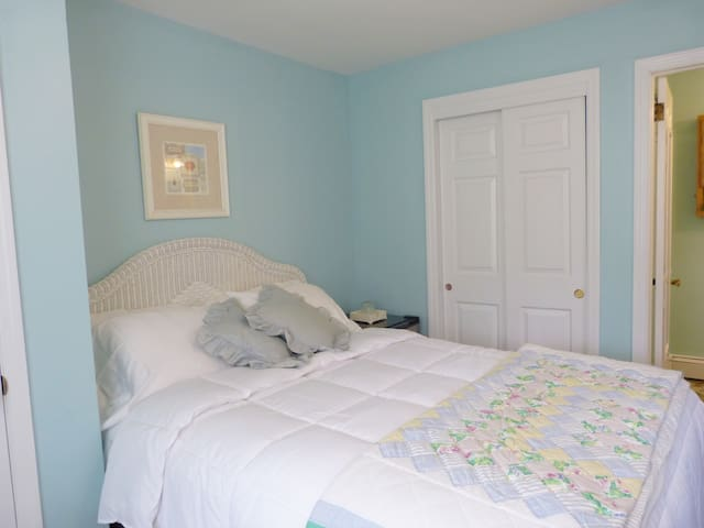 Room 2, Queen, Private Bath, Small Pet OK Sleeps 2 - Spring Lake - Bed & Breakfast