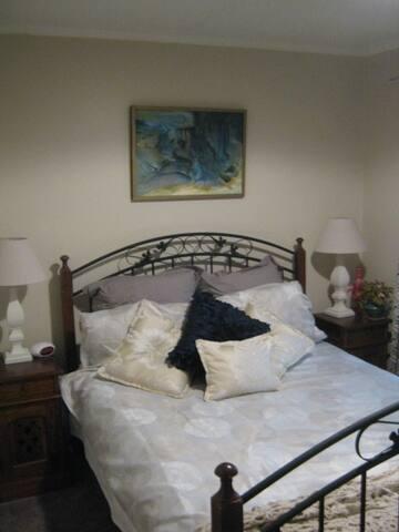 Private, Quiet Queen room  - Seaford - 獨棟
