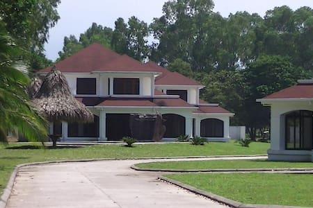Villa on Caribbean beachproperty  - La Ceiba