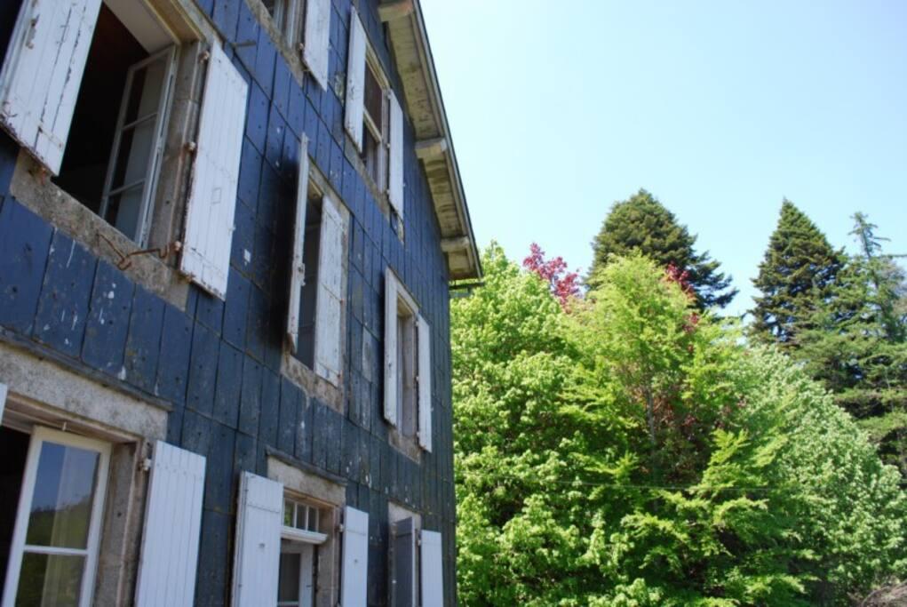 Maison Typique au milieu des bois