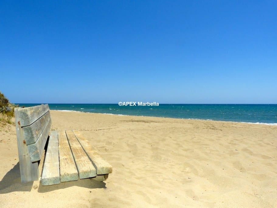 Best beaches of Marbella East