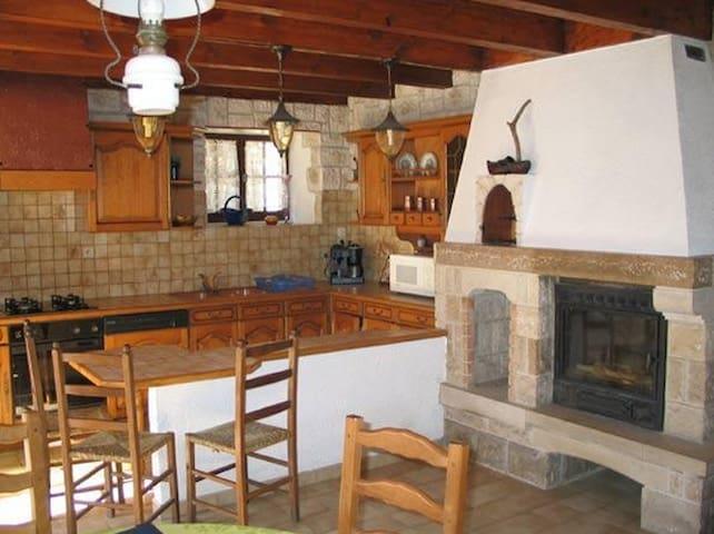 Gîte 5 personnes tout confort - Meyrueis - Casa