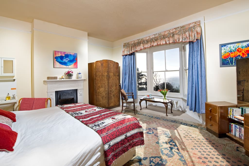The comfortable Cherbourg double room - can sleep upto 3 people.