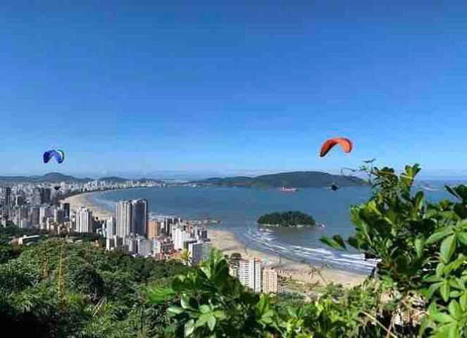 Aconchego à Beira Mar, 100m da Praia!