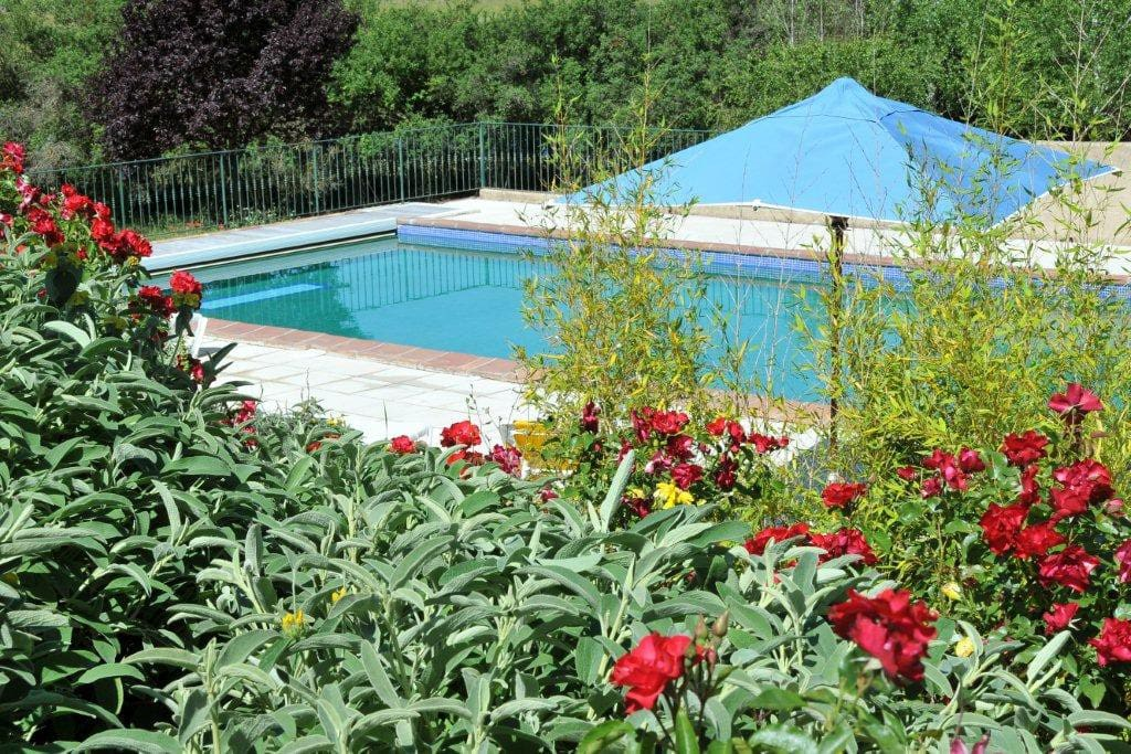 Large pool, great garden in a peaceful estate