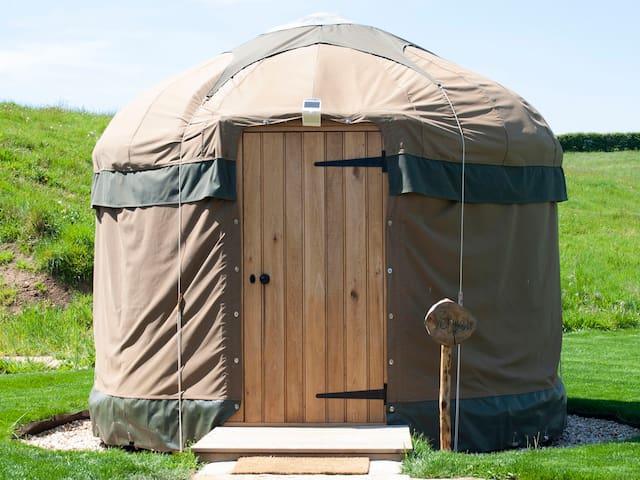 Shire Farm Yurt Village - Vehuel Yurt Sleeps 1