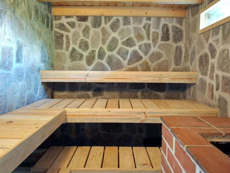 CASA LOBO  starting with new sauna every weekend from Christmas 2017