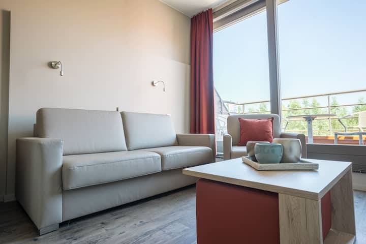 Studio with wifi, dishwasher and terrace