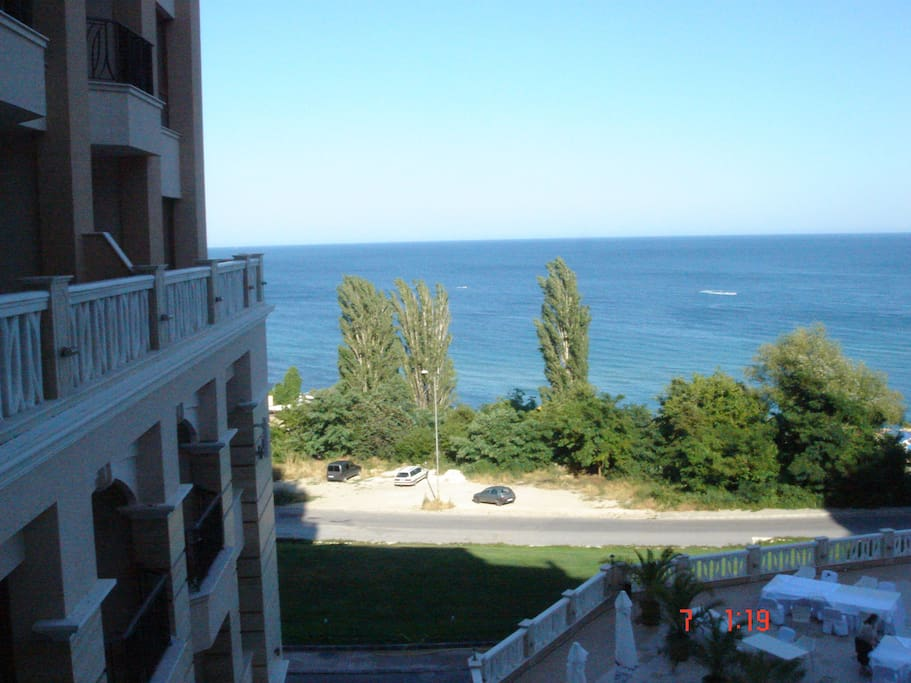 seaview from terrace