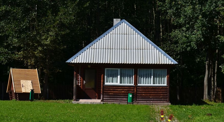 Домик Егеря в 40км от Минска - Smaliavičy - Rumah