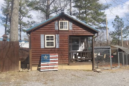 Spud A. Cabin. At my tiny house community.