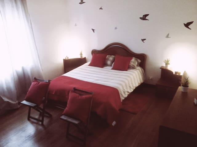 B&B-bedroom with en suite bathroom - Pratola Peligna - Apartament
