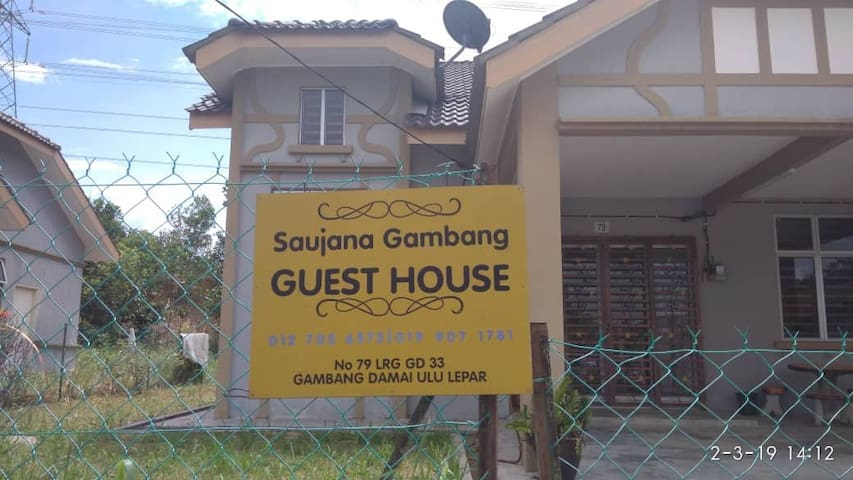 Saujana Gambang Guest House