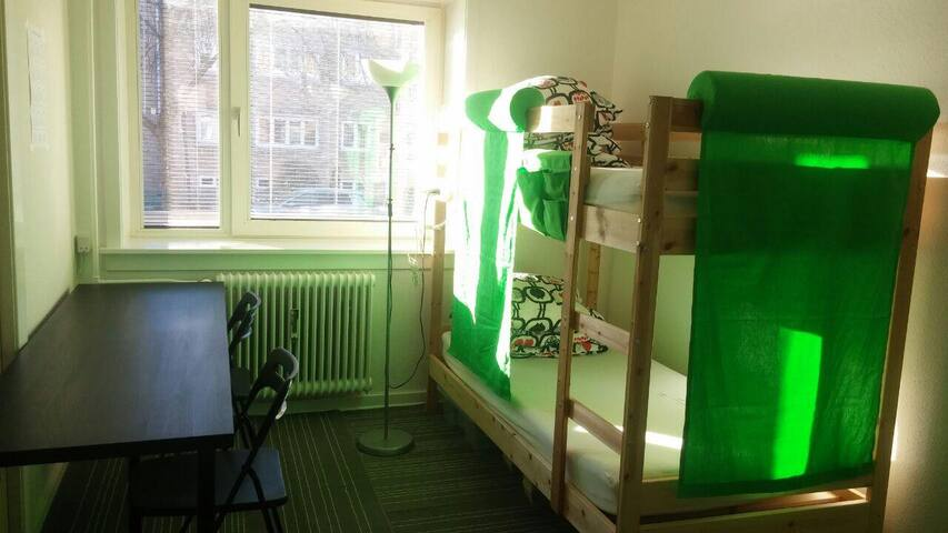 Libra(2 beds mixed dorm A) - Kongens Lyngby - Slaapzaal
