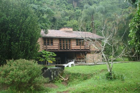 Roots Cabin in Mata Atlantica National Forrest - Morro Azul - Cabanya