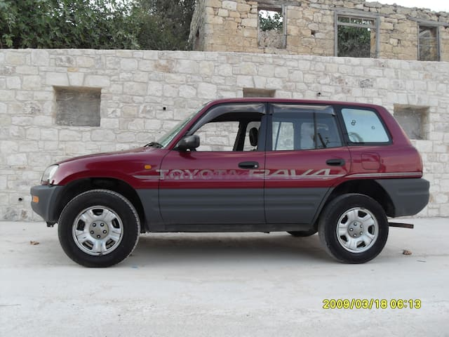 Free Toyota RAV4 car (automatic) with free insurance