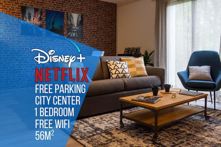 ★ ToulouseCityStay Colomiers ★ Parking ★ Netflix/Disney+★ Wifi ★ Airbus