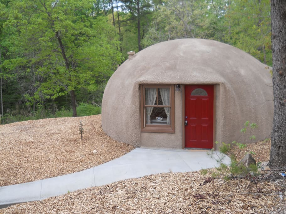 One Bedroom Dome Home In Upstate Sc Cottages For Rent In
