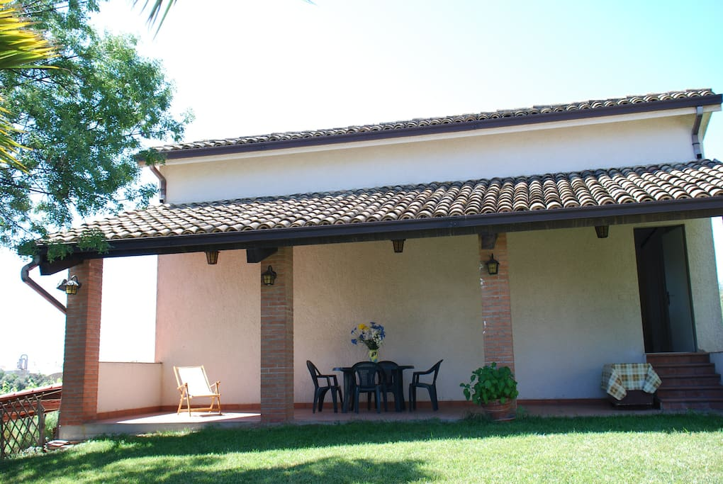 Matilde house external porch
