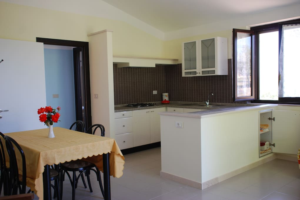 Matilde kitchen and living room