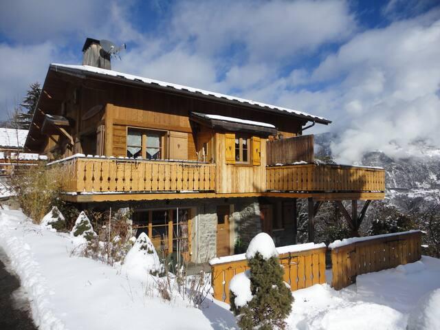 4* luxury Chalet Champetre Meribel  - เล อัลลู - บ้าน