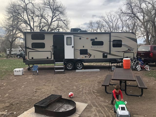 2019 Rockwood Camping Trailer - Sleeps 10