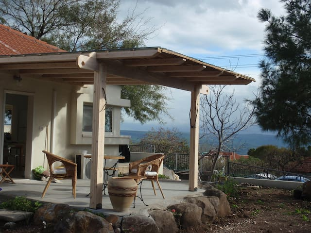 Lovely Home Above Kinneret - Karkom - Ev