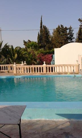 Villa dans une orangeraie piscine - Soliman - House