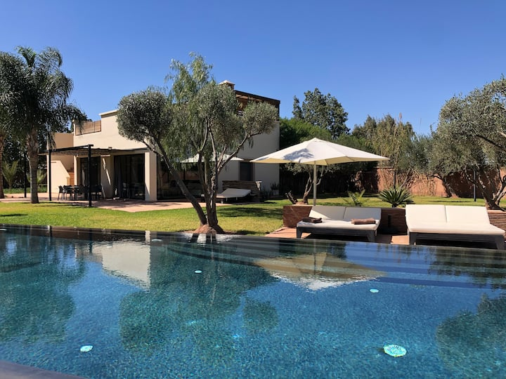 Villa privée dans un environnement idyllique