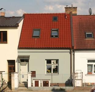 Řadový domek v Jindřichově Hradci. - Jindřichův Hradec