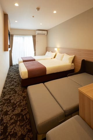 New Hotel Style Apartment, Triple Room #207