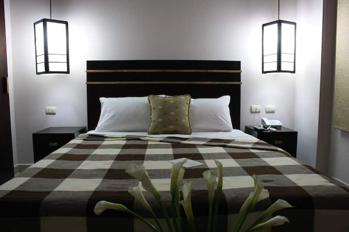 Single room (1 person use) Queen bed