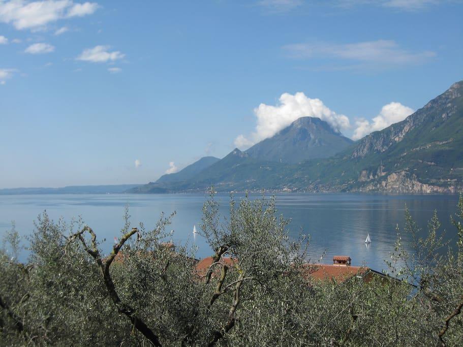 Stupenda vista lago dai nostri appartamenti