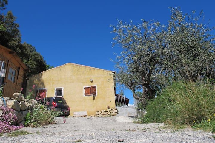 Maison ensoleillée Nice Côte d'Azur - Gilette - 一軒家