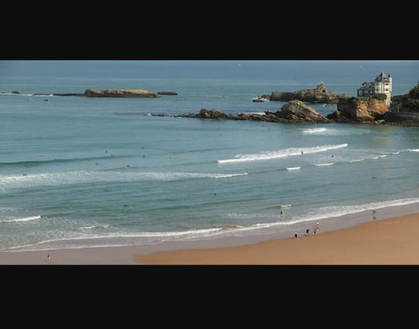 Studio centre à 100m de la plage - Biarritz - Appartement