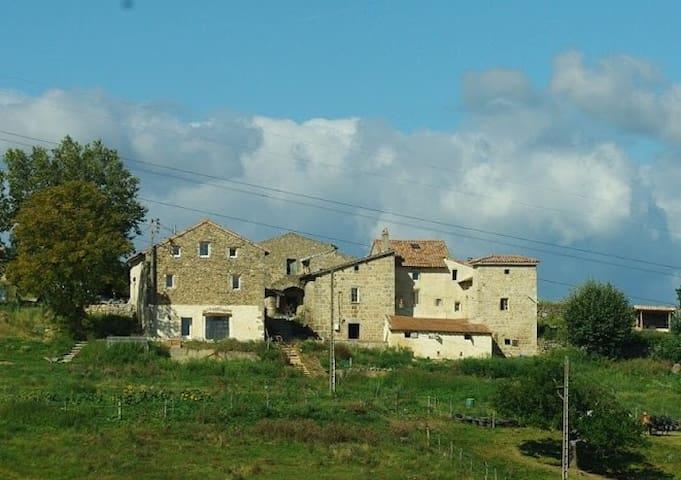 Terres de Meyras vue panoramique