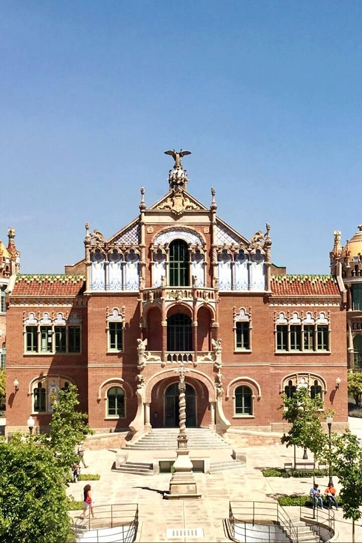 Hospital de Sant Pau i La Santa Creu