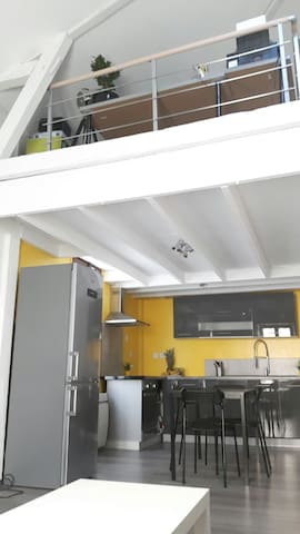 mini loft centre ville/ESC - Dijon - Loft