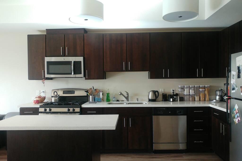 Enjoy a great kitchen.
