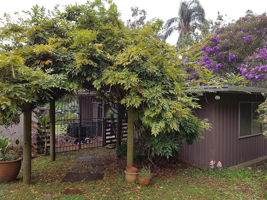 Cottage is separate to the house