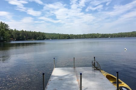 Cozy & Romantic Waterfront Camp on Raymond Pond