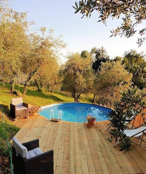 A Casa di Luca: Soleil, Nature et Toscane